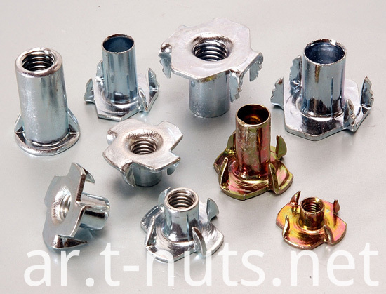 Embbed Stainless Steel T Nuts