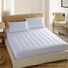Funda acolchada de colchón para colchón Protector 3D de fibra hueca