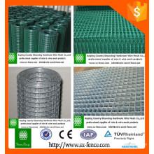 La venta caliente Galvanized / PVC cubrió la cerca hexagonal del acoplamiento de alambre