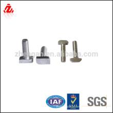 Parafusos de cabeça de martelo de aço galvanizado