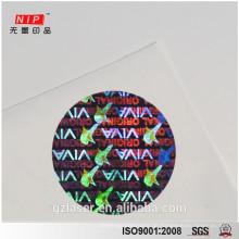 Kundenspezifische void Sicherheit Hologramm Etiketten mit Logo Design Service