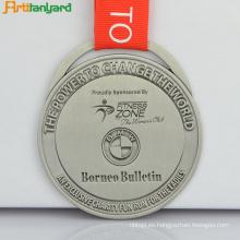 Medalla de plata de alta calidad de venta caliente