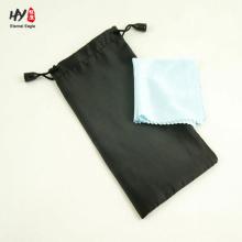 Очки из микрофибры мягкая чистящая салфетка сумка с изготовленной на заказ печатью