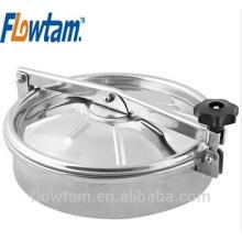 Manway do tanque de aço satinless, manhole do tanque, tampa do manway do tanque