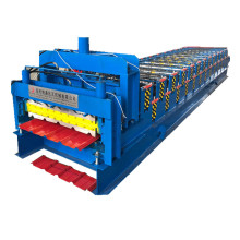 Galvanized Aluminum Double Layers Roofing Tile Machine