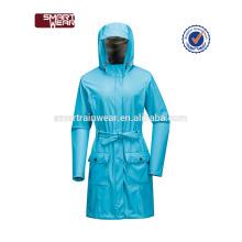 manufacutre pu imperméable veste de pluie en gros