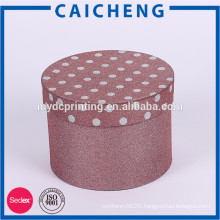 OEM service hot sale special colour cylinder paper box for present
