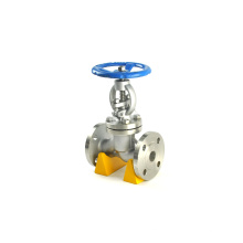 Forged steel medium temperature din bellow sealed forged globe valve 800#