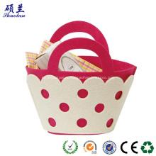 Promotional gift basket felt made