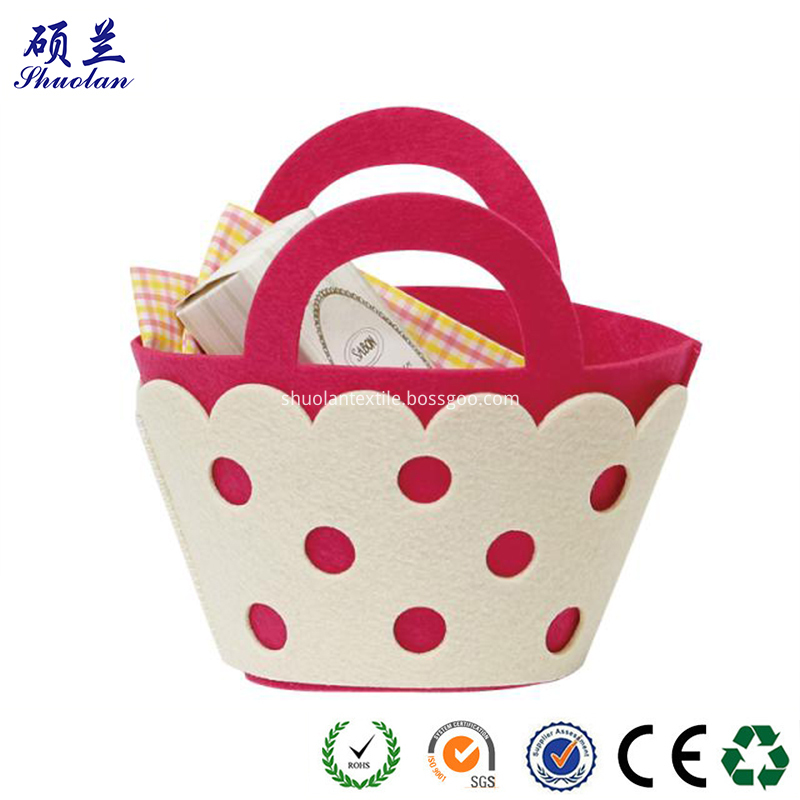 Felt Basket For Children
