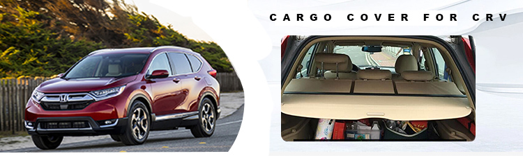 CRV Cargo Shade Display