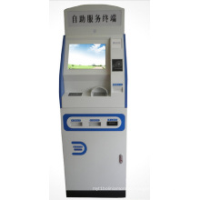 Government Organization Lobby Information Kiosk with Self-Service System