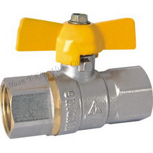 "Brass Ball Valve with Aluminium 1"" (YD-1022)"