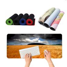 mousepad Factory Custom Size Print Non Slip PVC PU Leather Desk mousePad Gaming Protector Office Table Mat Mouse Pad mousepad