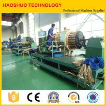 Máquina automática de bobina de bobina horizontal
