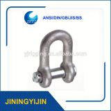Stainless Steel D Shackle For Shade Sail