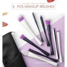 Ensemble de pinceaux de maquillage de visage végétalien de luxe de haute qualité