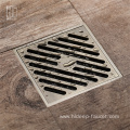 HIDEEP  Bathroom Accessories  Brass Floor Ddrain