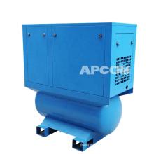 APCOM Stationary Screw Air Compressor Dryer With Gas tank 500L