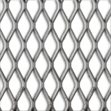 Galvanized Expanded Metal Mesh Diamond Flat sheet