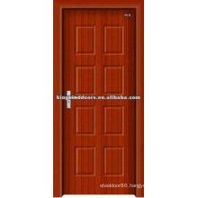 Cheap Price MDF Door PVC Door JKD-8056 Bathroom Door and Bedroom Door Design