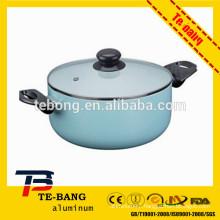 aluminium non stick induction pot cooking pot aluminium stock pot