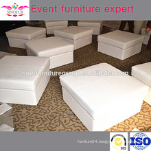 Classical model leather ottoman