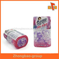Products labeling PVC shrink sleeve with custom design print surface