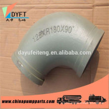 concrete pump spare parts stainless steel elbow making machine elbow for boom truck