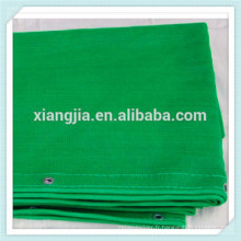 Filet de sécurité d'échafaudage de construction orange / bleu / vert de haute qualité de HDPE, filet de sécurité de construction vert pour l'échafaudage