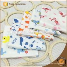 4-ply baby bibs 100% algodão para recém-nascido