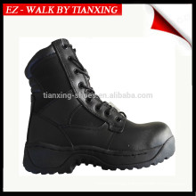 Anti Riot Black leather boots