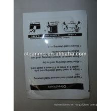 Tarjeta de limpieza de lector de tarjeta de crédito / débito POS