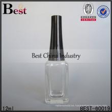 Botellas de vidrio de 12 ml de perfume personalizado; botellas de aceite de perfume de venta caliente en dubai; botella de vidrio superventas en los Emiratos Árabes Unidos