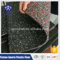 Yichen high density non-toxic gym rubber floor mat