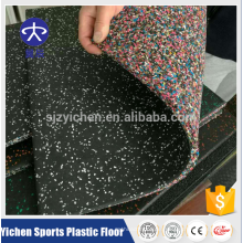 Yichen High Density ungiftige Gymnastik Gummibodenmatte