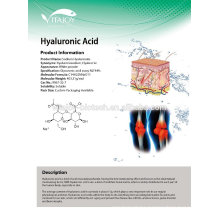 Pharma grade Sodium Hyaluonate/Hyluronic Acid Powder