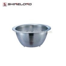 S346 12QT Colador de metal de acero inoxidable