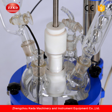 Small Laboratory Chemical Vacuum Glass Reactor