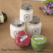 Alta Qualidade Pure Cotton Wick Candle com perfume diferente e preço barato