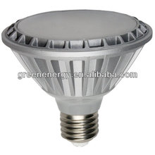 15W PAR30 short neck 1180-1350lm 120 degree beam angle 100-240V AC UL approved
