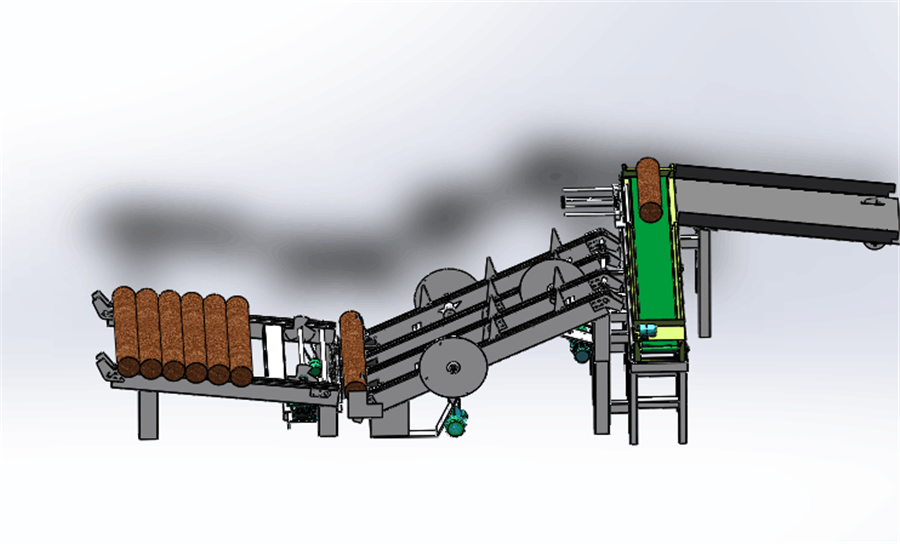 Log Cutting Machine