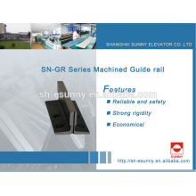 linear guide rail for elevator for MITSUBISHI, HITACH,Schindler,KONE