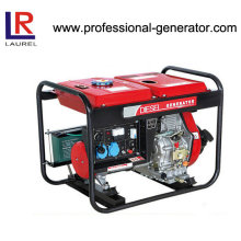 5kw Diesel Electric Generator with Battery Powered AC Single Phase