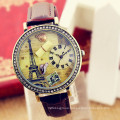 Factory Direct Wholesale Fashion Stainless Steel Women′s Wrist Watch