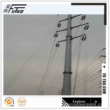 10m galvanized Octagonal Electrical Steel Poles