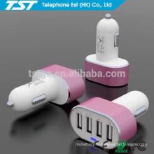 Рекламные Custom 4USB Автомобильное зарядное устройство адаптер для iPhone