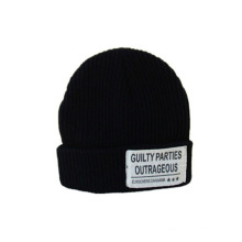 Small Order Knitted Beanie Hat for Man