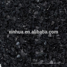 Carbón activado a base de madera para tratamiento de agua
