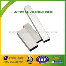 201/304 SS Dekorative Tube